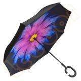 거꾸로 한 우산 방풍 최고 반전 차 긴 우산