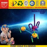 Пластиковый DIY строительство здание с открытым зевом игрушки для детей
