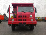 Ribaltatore Zz5707V3840cj di estrazione mineraria di Sinotruk HOWO 70t 420HP