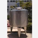 Serbatoio mescolantesi dell'acciaio inossidabile con un miscelatore ed un'emulsione