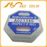 가장 새로운 감도 Shockwatch 2 병참술 충격 표시기