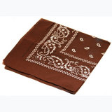 La sublimation carrée de mode conçoivent le Bandana en fonction du client de coton
