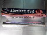 papel de aluminio de la cocina de los 75FT para el acondicionamiento de los alimentos
