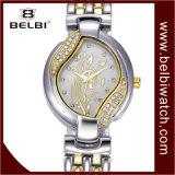 Wristwatches ювелирных изделий подарка кварца повелительниц Belbi роскошные сетноые-аналогов