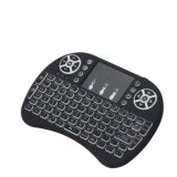 2019 Nova chegada Mini-I8 Teclado sem fio e mouse Touchpad Telecomando vendido no Alibaba ar para Caixa de TV SO de PCS
