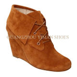 Madame Fashion Wedge Ankle Booties (YMB001025-01)