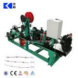 Einfache Geschäfts-Eisen-Draht-einzelner Strang-Stacheldraht-Maschine