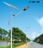 De longues journées de pluie Backup Rue lumière solaire avec la CE certifié