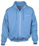 Reißverschluss-mit Kapuze Sweatshirt ziehen