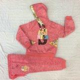 Ватка зимы ягнится костюм спорта девушки в одеянии Sq-6666 детей