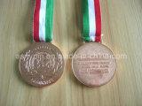 Metal su ordinazione Sports Award Medals in Gold/Silver/Bronze (ASNY-MM-TM-074)