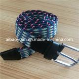 Cinghia Braided anelastica degli accessori del filetto del cotone di colore di Muti