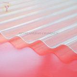 Painel de plástico reforçado por fibra de Papelão Ondulado folha de metal de fibra de vidro