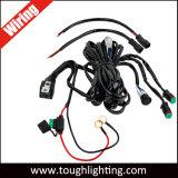 Cablaggio di collegamenti chiaro unidirezionale del LED con i connettori di distacco