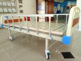 Manuelles medizinisches Krankenhaus-Multifunktionsbett mit drei Kurbeln