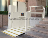 Для использования вне помещений вертикального подъема инвалидных колясок для инвалидов