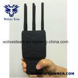 6 vendas Handheld todo el teléfono celular y emisión de la señal del GPS con el caso de nylon