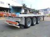 40feet Flatbed Aanhangwagen 3axles (Lange Voertuigen)