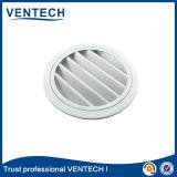 Rejilla de aire impermeable de color blanco para el sistema HVAC