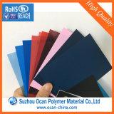 Лист PVC цвета, желтый лист PVC, красный лист PVC, твердый лист PVC