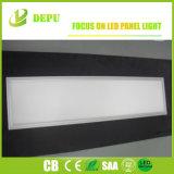 Luz livre 120lm/W do ecrã plano da cintilação com Ce de prata TUV Dlc do frame 40W 60W 1X4 passado
