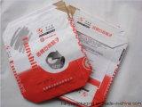 Le sac personnalisé de papier d'emballage pour la colle ou sablent avec l'enduit de PE