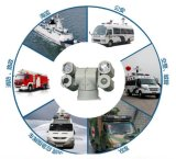 Die multi Unterbringung 4 - Überwachungskamera des hellen Fahrzeug-PTZ füllen