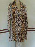Телец Printed-Leopard имитация одежды