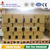 Horno de túnel de alta capacidad para la fabricación de ladrillos