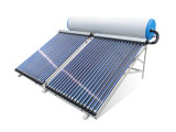 Splite caloducto calentador de agua solar de alta presión