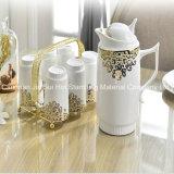 Hoja caliente de Stampign de la hebra hermosa del oro para la decoración casera de los muebles