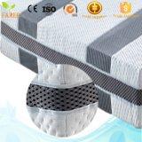Tejido de lino de algodón transpirable 3 D colchón