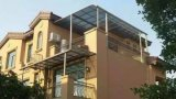 Venta caliente modificada para requisitos particulares policarbonato Titanium del toldo de la terraza del Carport del toldo de la puerta del toldo de la ventana de la aleación de aluminio