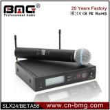 Haut de page 1 de la qualité : 1 Slx24/Beta58, Slx24/SM58, Slx24/Beta87c, Slx14 Microphone sans fil pour vivre la voix