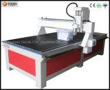 Máquina de gravura do Woodworking da linha central do router 3 do CNC