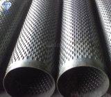 Puente de acero galvanizado de bajo carbono pantalla ranurados de tubos (HD-B325)