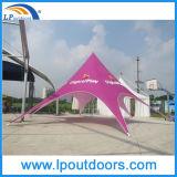 Изготовленный на заказ шатер торговой выставки печатание рекламируя шатер звезды индикации