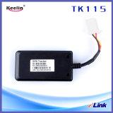 Rastreador GPS barato o SMS e o PC para suporte a dispositivos de rastreamento de óleo de corte (TK115)