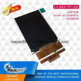 """Pantalla LCD de 2,4"""" 240x320 con la Interfaz SPI se aplican para la industria/Equipo."""