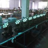 Bewegliche Hauptwäsche 7X10W des träger-LED