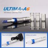 Tanto por cable y conexión inalámbrica a la piel Lápiz Derma Microneedles Ultima A6