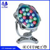 Indicatore luminoso subacqueo luminoso eccellente subacqueo espresso del raggruppamento dell'indicatore luminoso 15W di IP68 LED