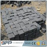 Pavimentadoras del guijarro del acoplamiento de la piedra del adoquín del granito