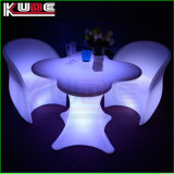 Conjunto de móveis brilhantes Night Club Lighting Iluminado LED Table