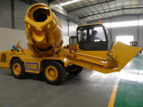 Mobiele Concrete Mixer met het Mengen van Vrachtwagen