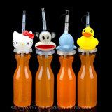 محبوب فسحة 500 [مل] مستهلكة بلاستيكيّة عصير قصيرة