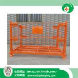 Складывая клетка снабжения металла для пакгауза с Ce Forkfit