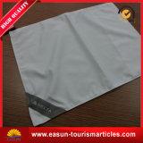 Forma quadrada de algodão branco caso de almofadas