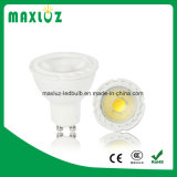 GU10 MR16 Luz LED Spot 8W COB con lente Dimmable