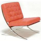현대 고전적인 가구 가죽 의자